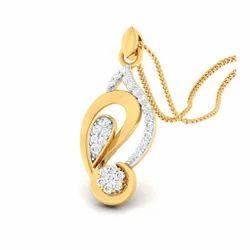 Standard Designed Diamond Gold Pendent