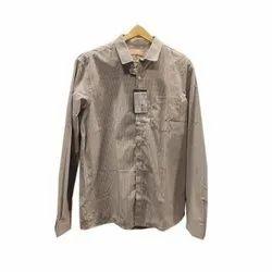 Button Formal Wear Mens Formal Cotton Shirt, Machine wash