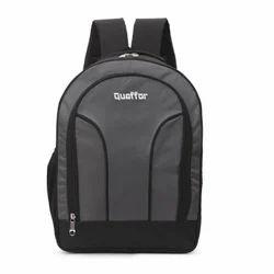 Plain Nylon Laptop Backpack