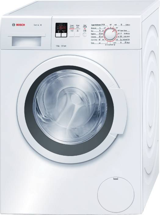 Bosch 7 kg Fully Automatic Front Load Washing Machine, WAK20160IN, Wh...