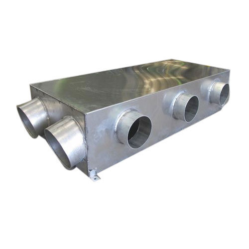 Steel Fabrication Services: Jaydeep Industries Stainless Steel AC Duct Fabrication