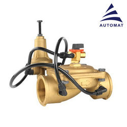 Brass Hydraulic Control Valve With Pilot
