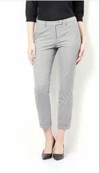 36 Stripe Van Heusen Grey Trousers