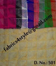 Chain Stitch Embroidered Fabrics