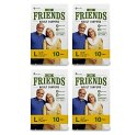 Friends Easy Adult Diapers Large Size Waist 38-60 inch High Absorbency Anti-Bacterial Core