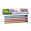 Black Five Assorted Colours Lezing Champion Pearl Pro - Export, For Writing, Packaging Size: 12pcs