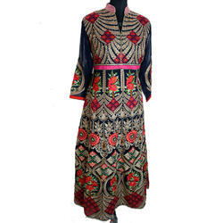 Embroidered Georgette Long Suit
