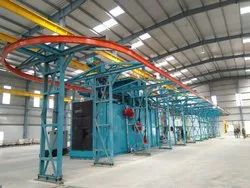 Automatic Monorail Shot Blasting Equipment