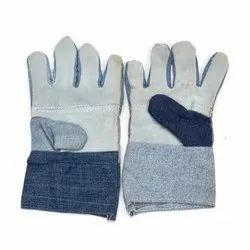 Leather Jeans Hand Gloves