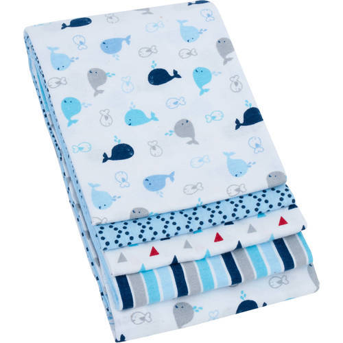 Plain And Printed Receiving Blankets Size 50x70cm 70x70