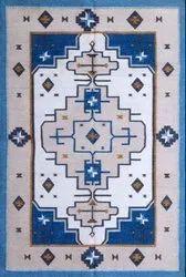 Woven Cotton Lurix Flat Weave Rug, Size: 4 x 6 feet