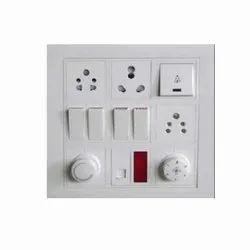 White Electrical Switch, 2, Ip 65
