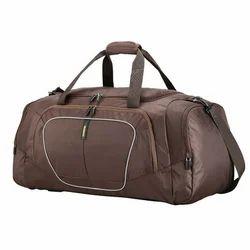 45231aca4a Brown Pattern Duffle Bag