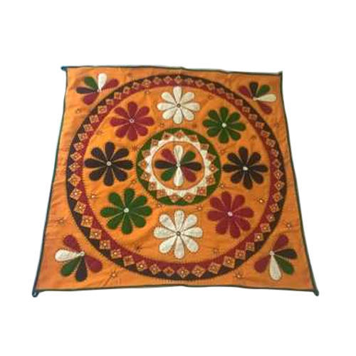 Wall Hanging - Floral Embroidered Wall Hanging Manufacturer from Hyderabad