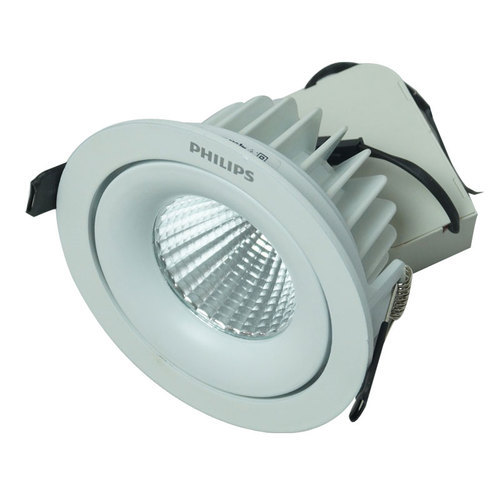 Philips Commercial Led Lights: Ceramic Philips 12w COB Spotlight LED, For Residential