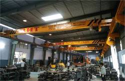 Single Girder I Beam Type EOT Crane