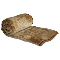 Embossed Double Bed Mink Blanket 204