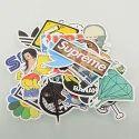 Multicolor Graphic Vinyl Sticker
