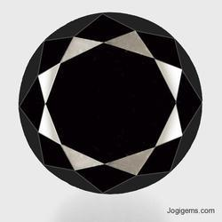 Natural Fancy Shape Black Diamond