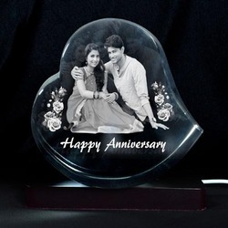 3D Crystal Personalized Gift (3D-1143E)