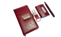 4 in 1 Leather Gift Set