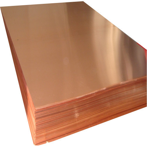 Etp Copper Sheets Thickness 0 3 To 25 Mm Rs 400