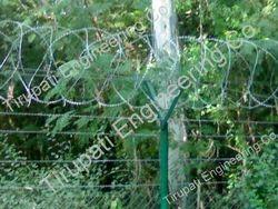 Razor Wire Concertina Coil