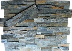 Zeera Green Slate stone Cladding