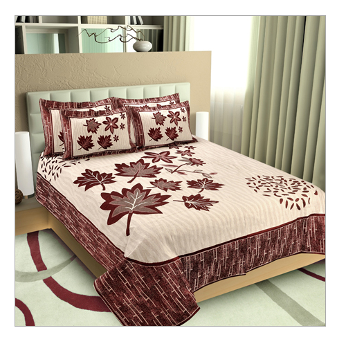 Pure Cotton Printed Designer Bed Sheets