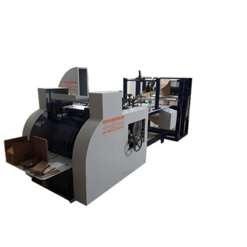 Fully Automatic Paper Bag Machine, Capacity: 100-150 bags/min, 280-440 V