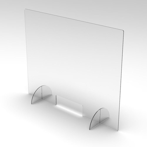VIRUS Clear Plastic PPE Vinyl PVC Fabric Table Protector And Protective Screen