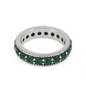 Fantastic 925 Sterling Silver Green Onyx Ring