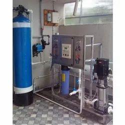 FRP Industrial Reverse Osmosis Plant, Semi-Automatic, Chlorinator