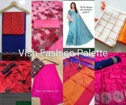 Vish Fashion Palette trendy sarees
