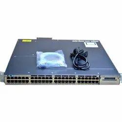 Cisco WS-C3750X-48PF-S Catalyst Switch, 110 V Ac, 220 V Ac