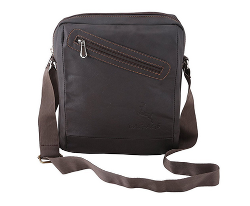 Leather Sling Bag Messenger