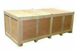 Edible Light Weight Wooden Packaging Box, For Shipping, Box Capacity: 1-200 Kg