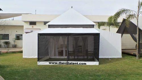 Luxury White Villa & Luxury White Villa Pyramid Tent in Vedanta Street Ambala The ...