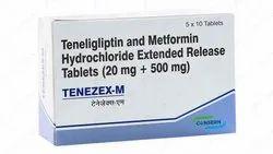 TENEZEX-M (Teneligliptin And Metformin HCl (As SR) Tablets)