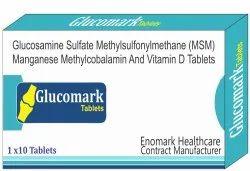 Glucosamine Sulfate Methylsulfonylmethane (Msm) Manganese Methylcobalamin And Vitamin D3