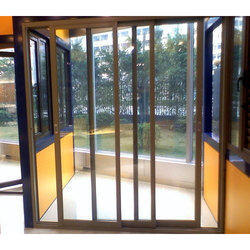 Three Track Aluminum Sliding Door