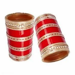 Acrylic Cubic Zirconia Chudas Indian Wedding Chura