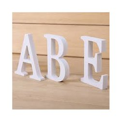 Wooden MDF Letters