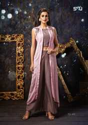 8feb05676a Gown. Prominent & Leading Manufacturer from Surat, we offer S4U launch kitty  party vol 2 mesmerising party wear collection ...