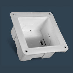 4 X 4 Inch PVC Concealed Box