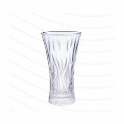 Roxx Lily Glass Flower Vase, Height: 23 cm