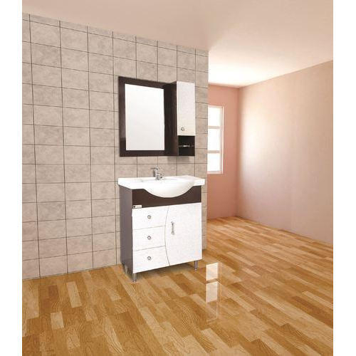 Brown And White U7br Bathroom Vanity Cabinets Size 28 X 16 Inch