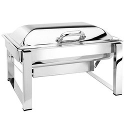Rectangle Pipe Lag Chafing Dish