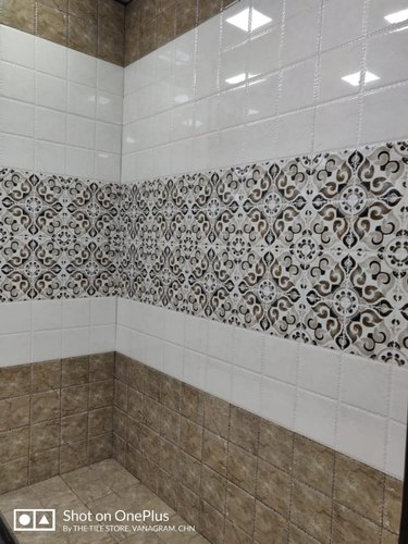 Bathroom Wall Tile Concept 24in X 12in 2ft X 1ft 600mm X 300mm Box Contain 5pcs 10sqft Rs 45 Square Feet Id 19208615762