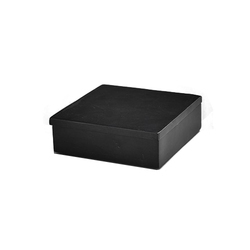 Black Soapstone Box